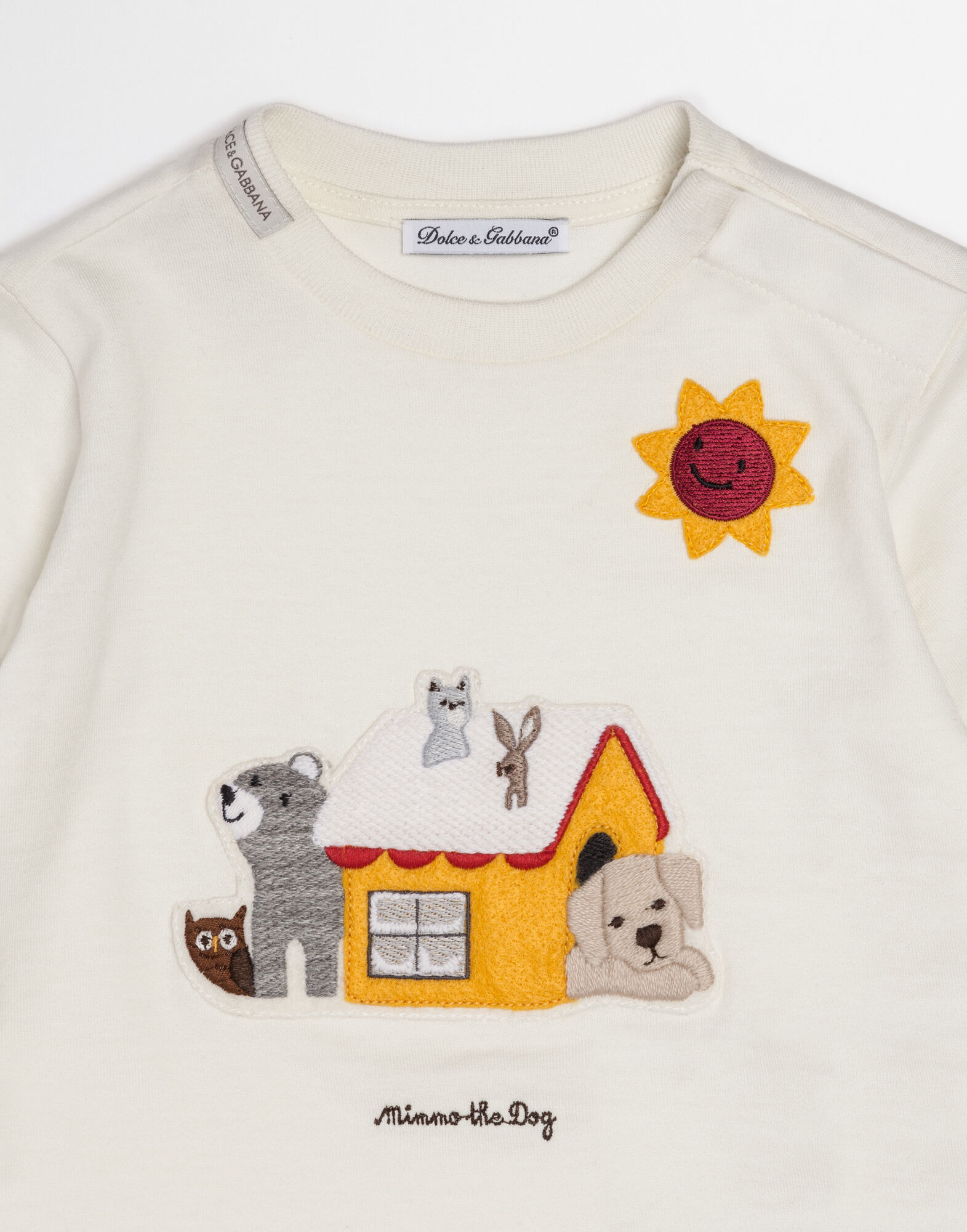 MIMMO THE DOG T-SHIRT IN COTTON