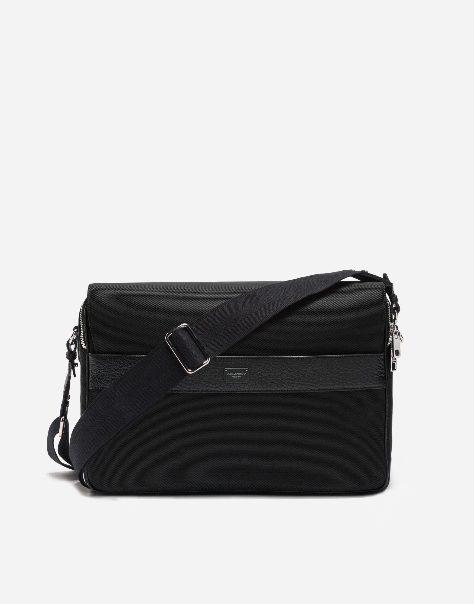 Dolce&Gabbana MESSENGER BAG IN CANVAS