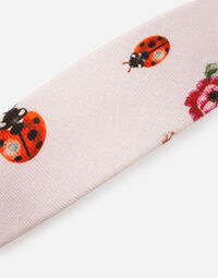 PRINTED FLANNEL HEADBAND