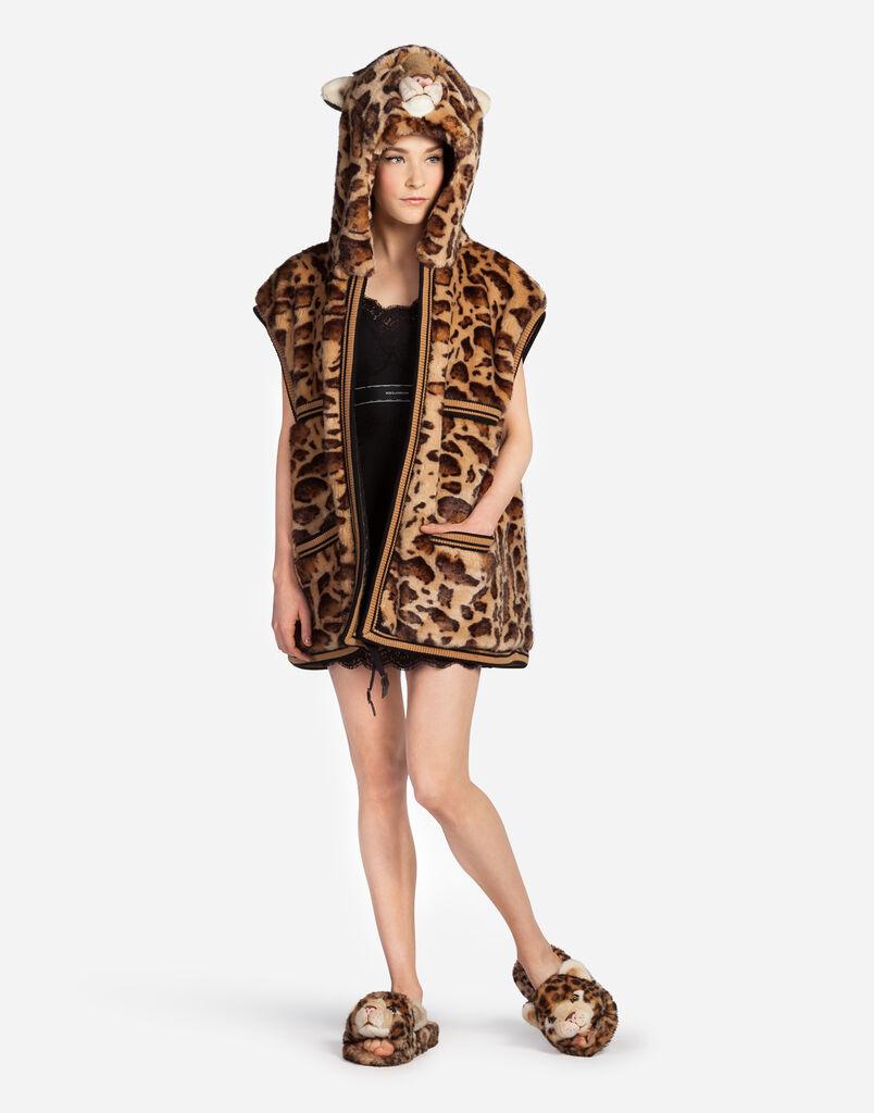 Dolce&Gabbana FAUX FUR WAISTCOAT