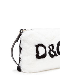 CROSS-BODY BAG IN FUR