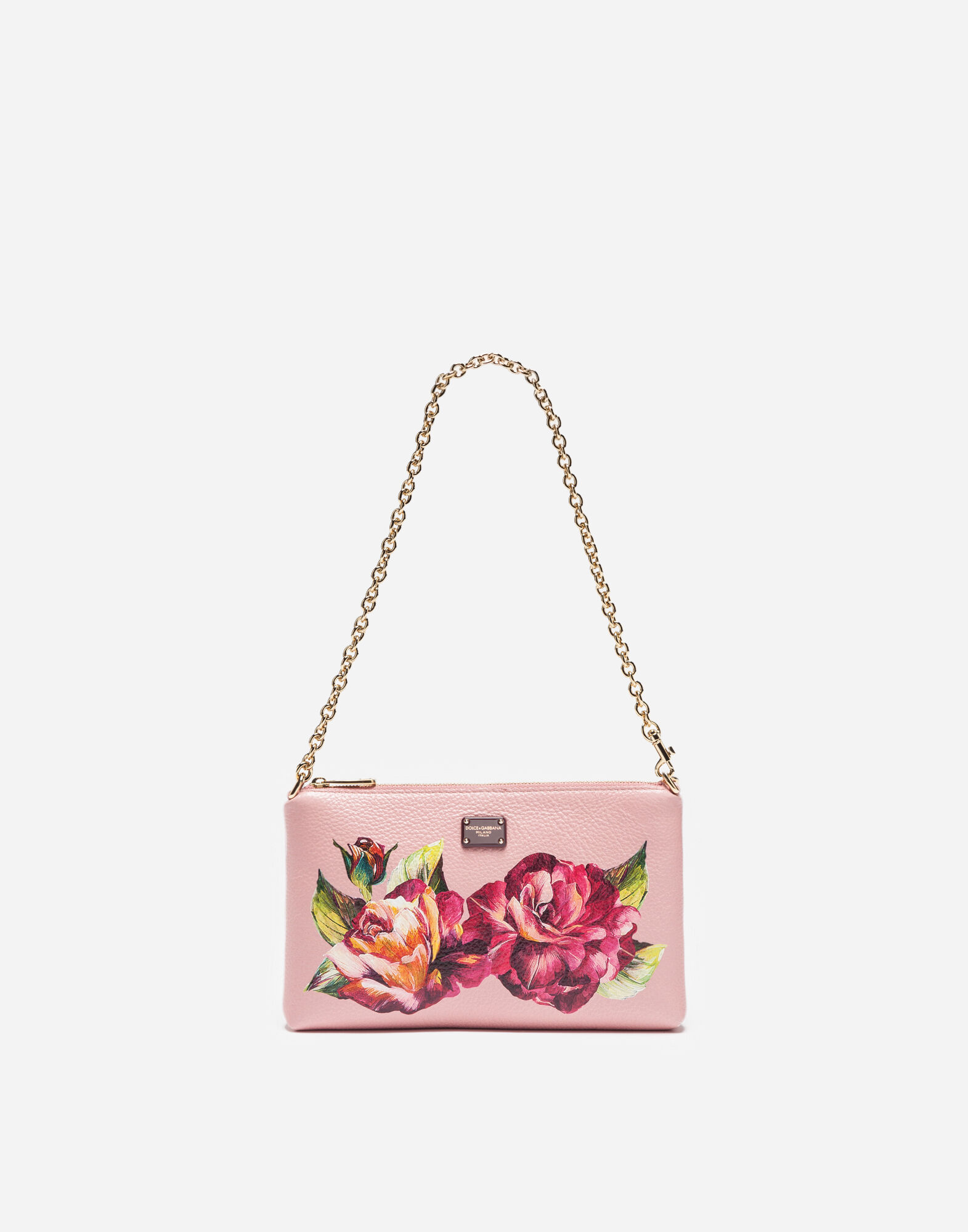 MINI BAG IN PRINTED LEATHER