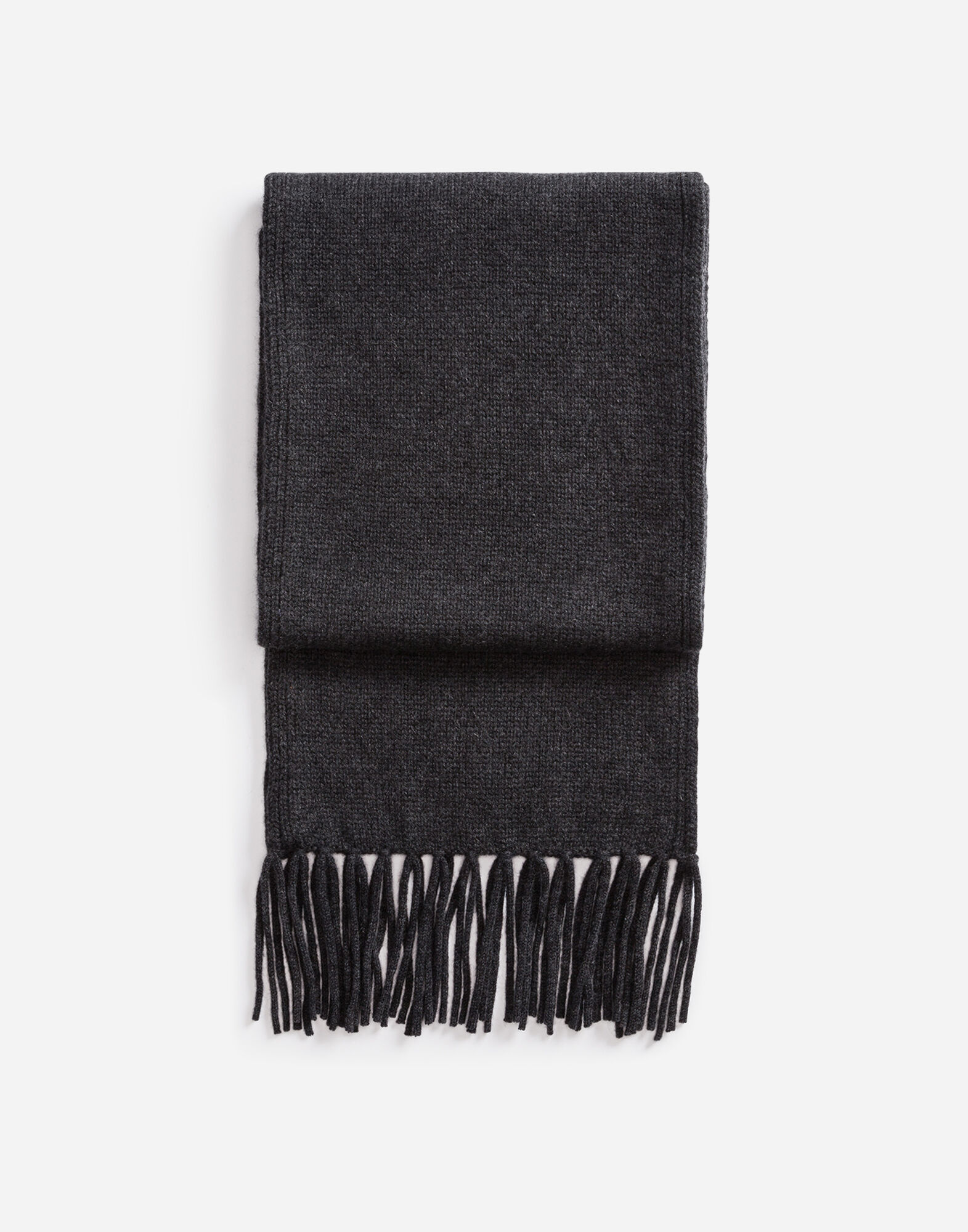 CASHMERE SCARF WITH FRINGES
