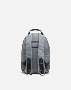 NYLON BACKPACK WITH DESIGNERS' PATCHES