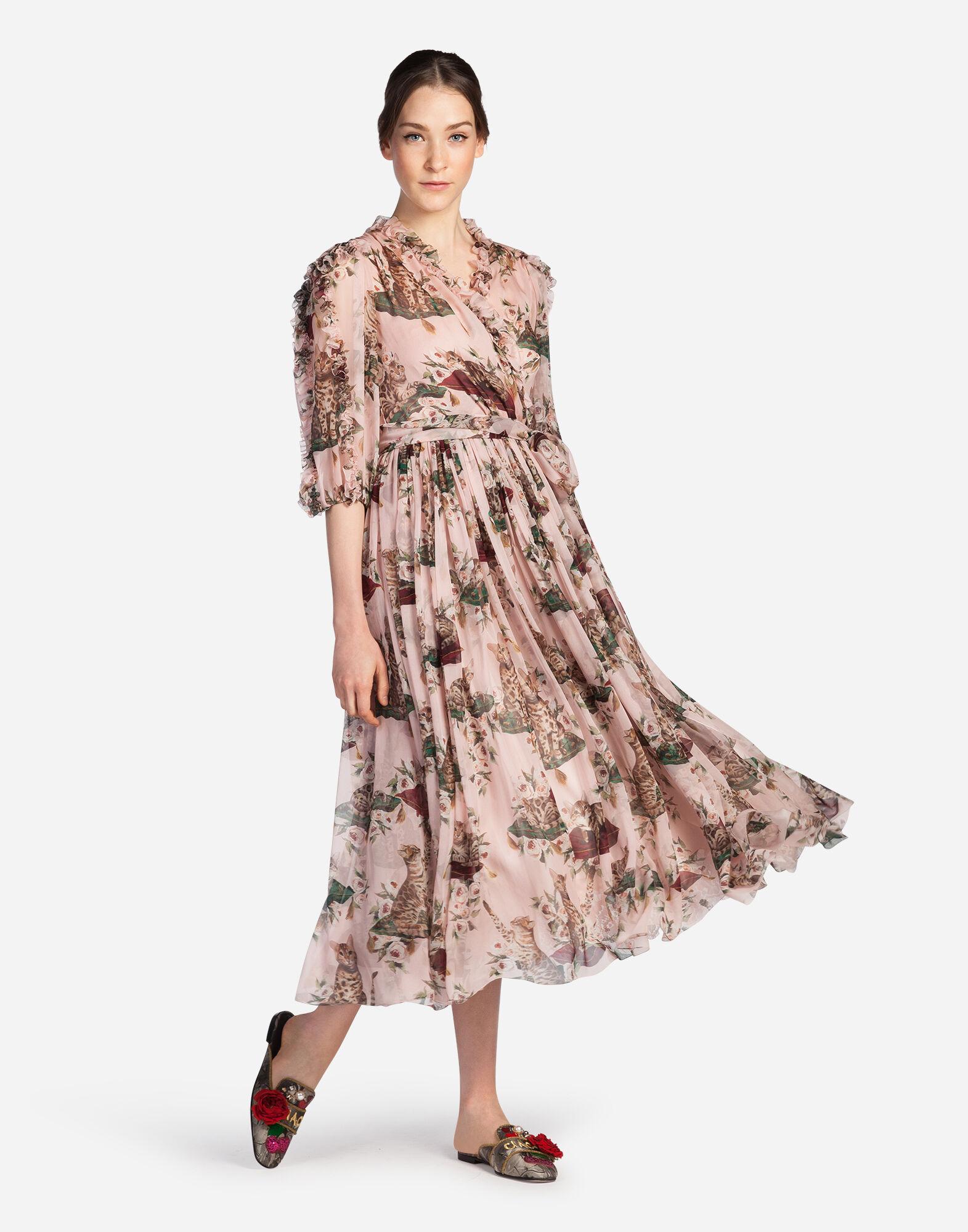 Dolce&Gabbana PRINTED SILK DRESS