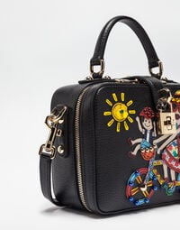 Dolce&Gabbana DOLCE SOFT BAG WITH DG FAMILY PATCH