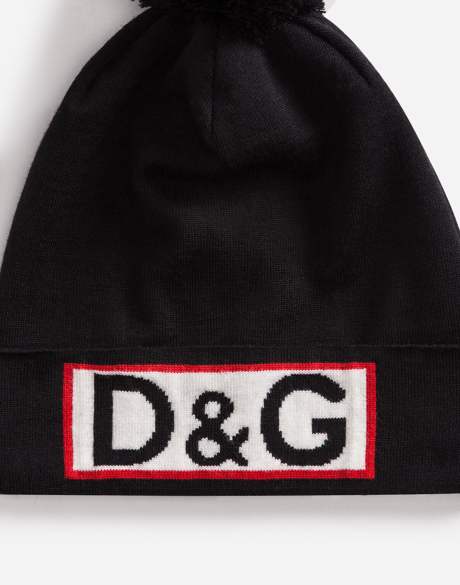 Dolce&Gabbana WOOL HAT WITH PATCH