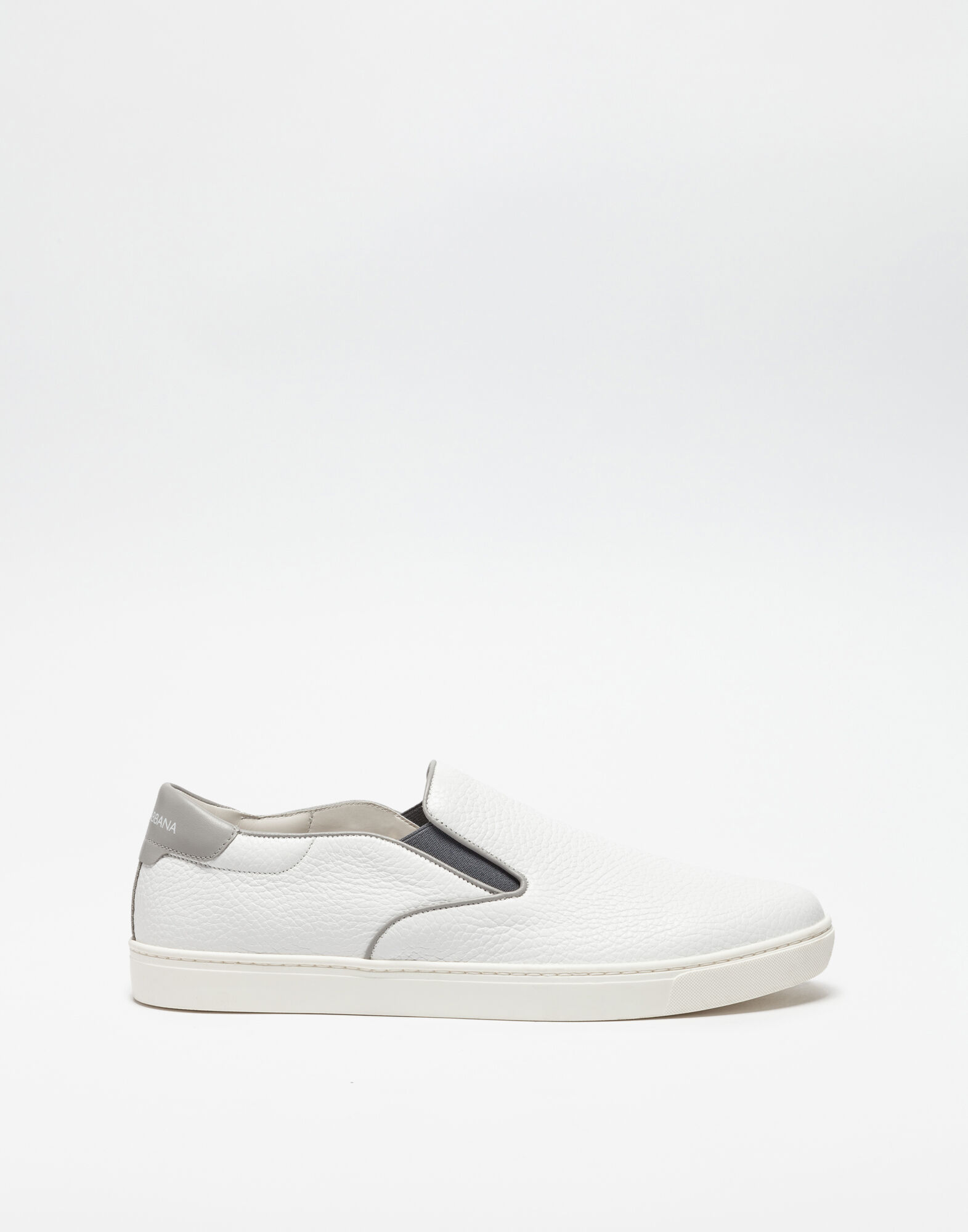LEATHER LONDON SLIP-ON SNEAKERS