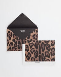 Dolce&Gabbana TEN CARD SET WITH PRINTED PAPER ENVELOPES