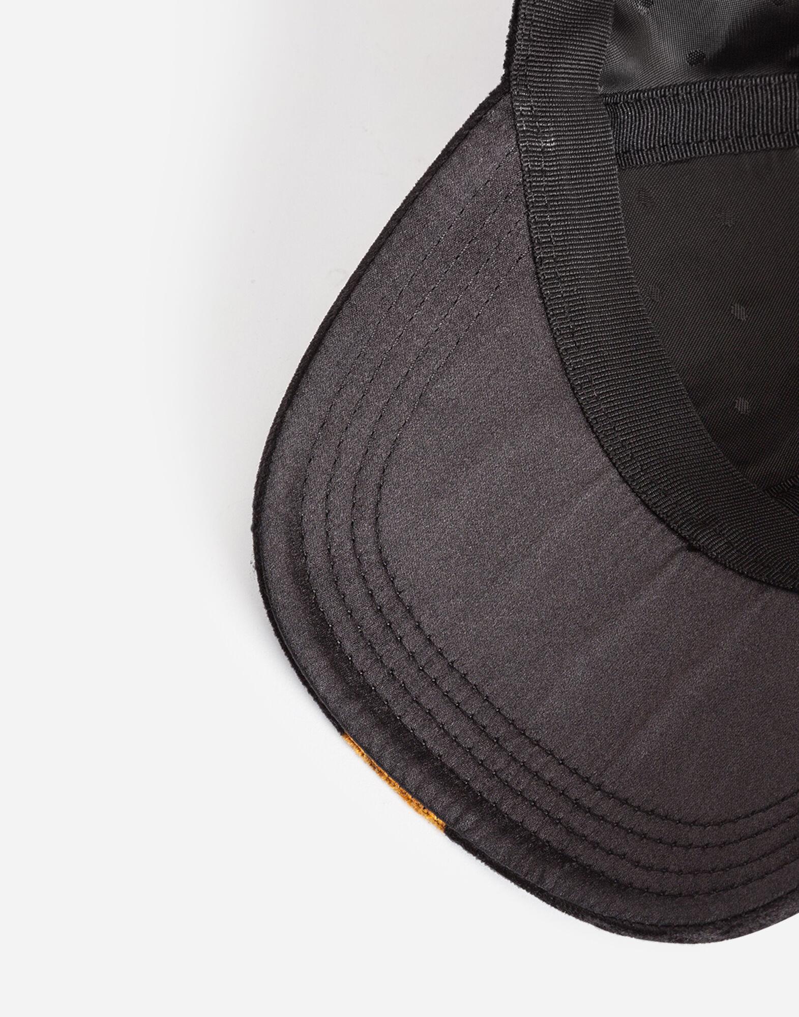 BASEBALL CAP IN PRINTED VELVET