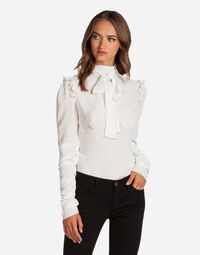 CHARMEUSE TOP