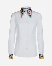 SHIRT WITH SILK DETAILS