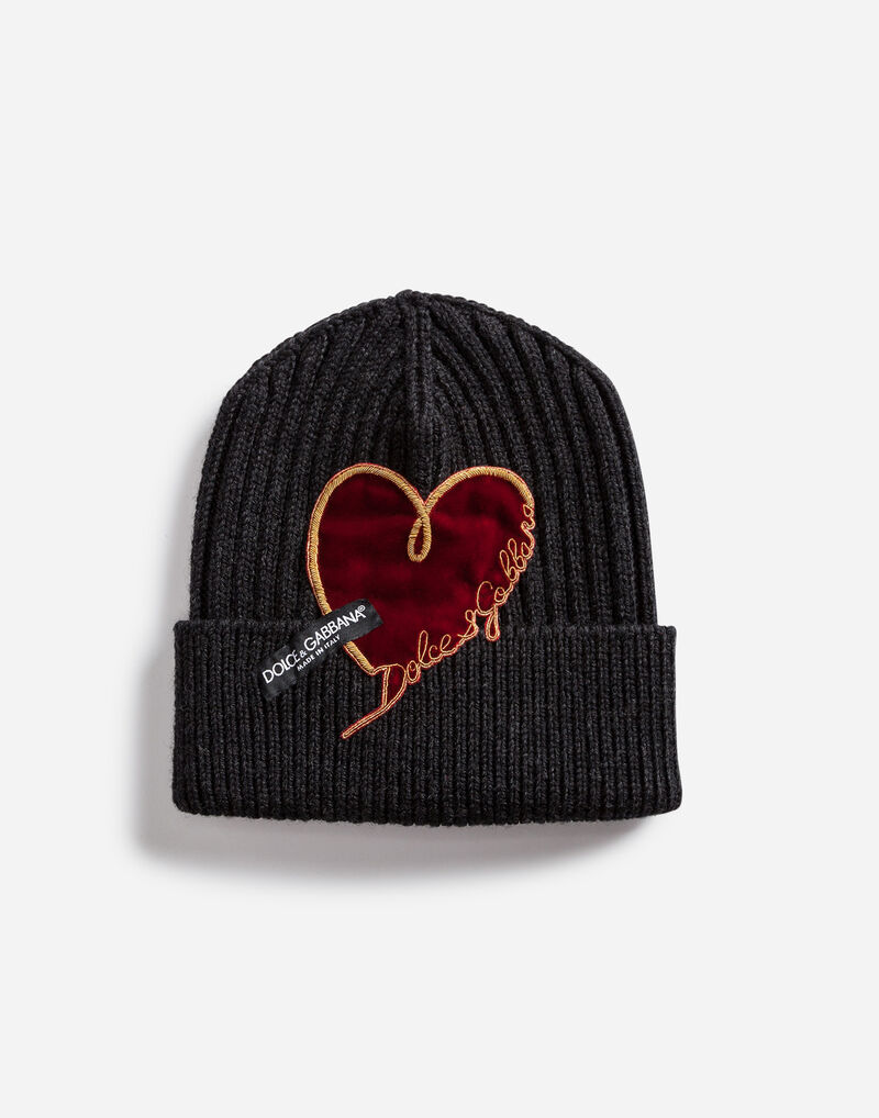WOOL HAT WITH PATCH