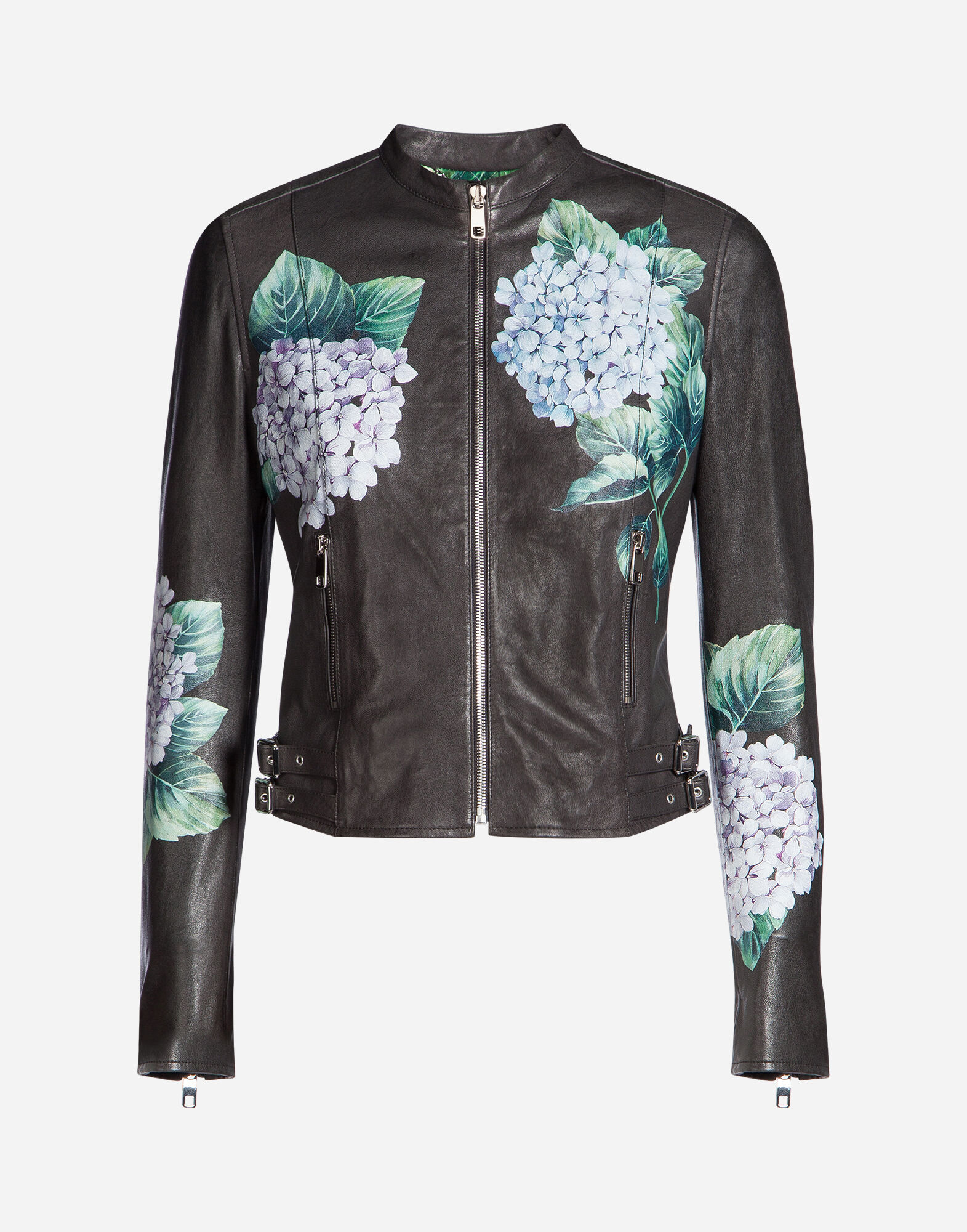 PRINTED LEATHER JACKET