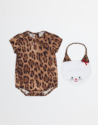 ZAMBIA BABYGROW AND BIB SET