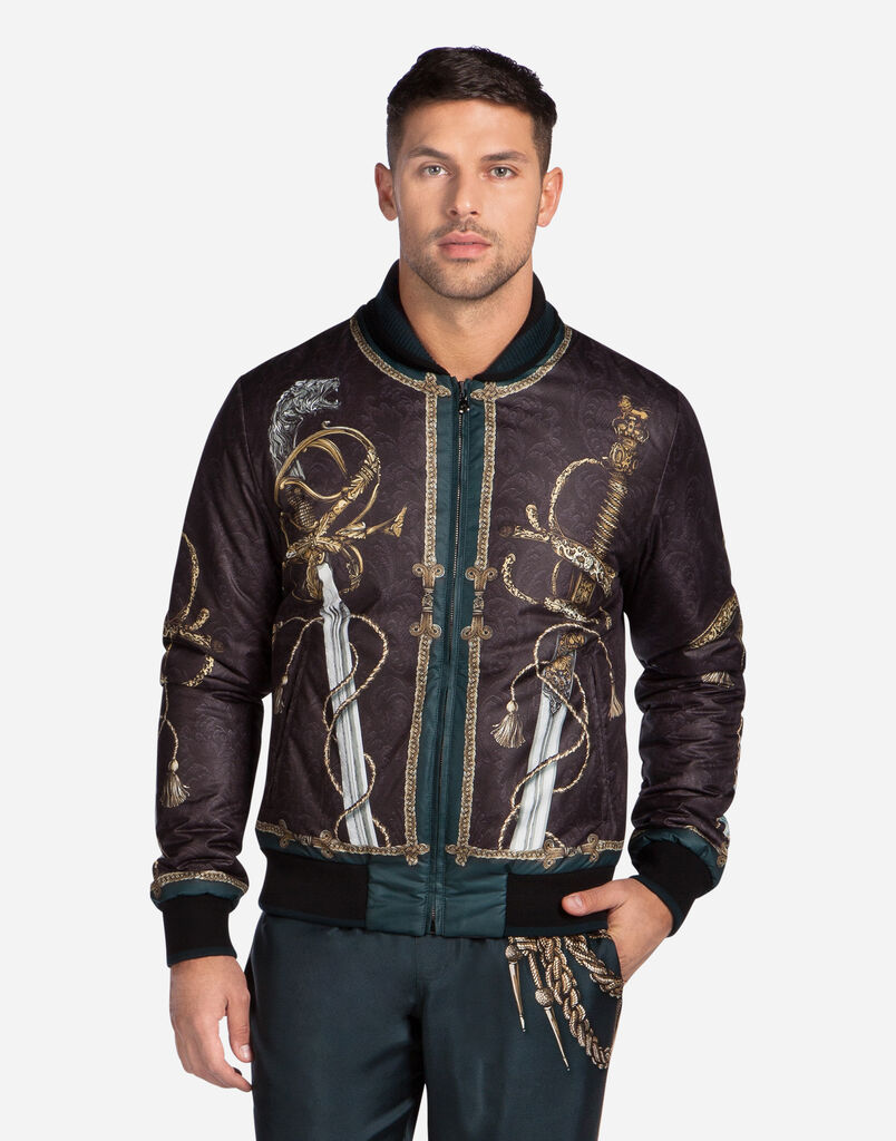 Men's Leather Jackets | Dolce&Gabbana
