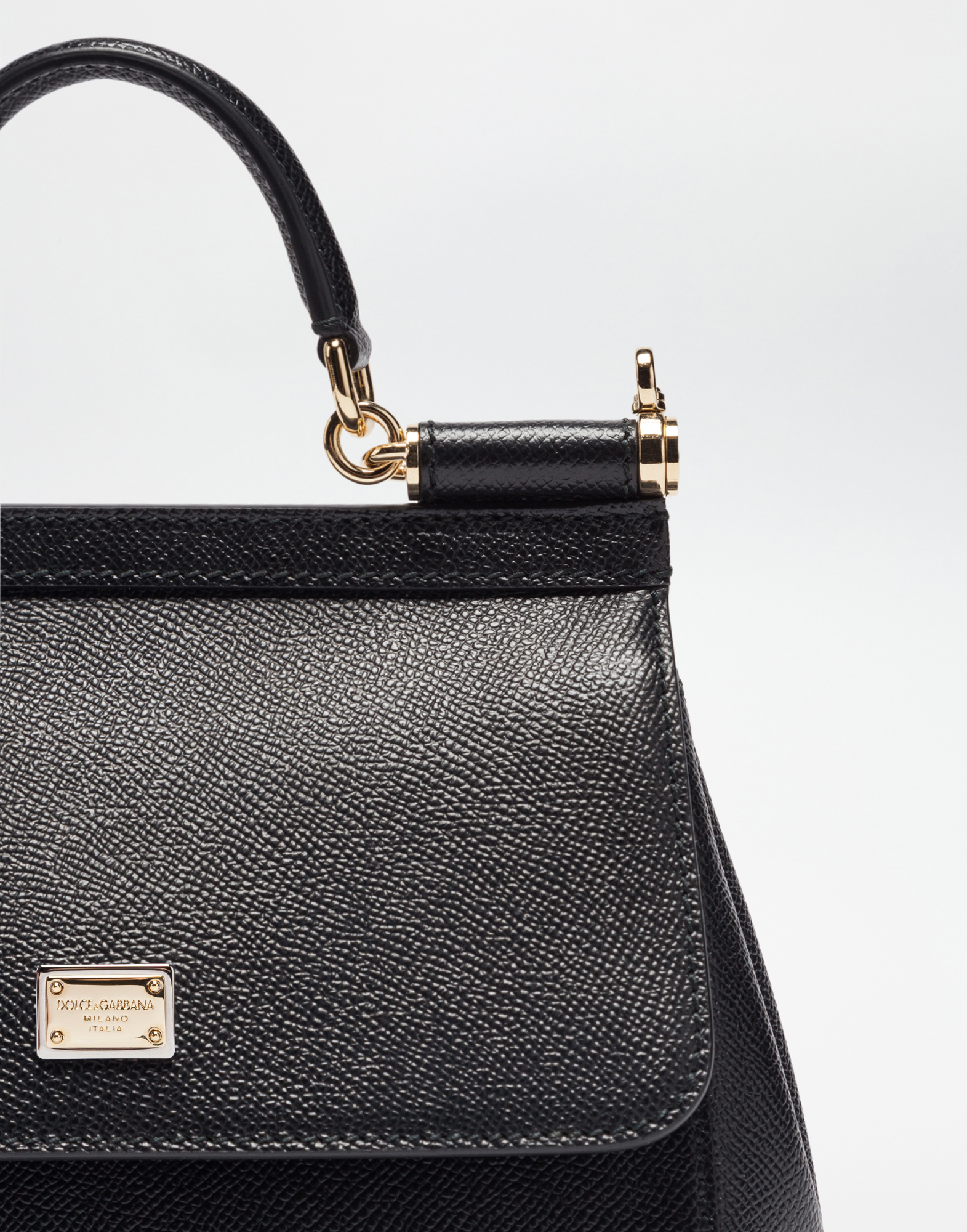 SMALL DAUPHINE LEATHER SICILY BAG
