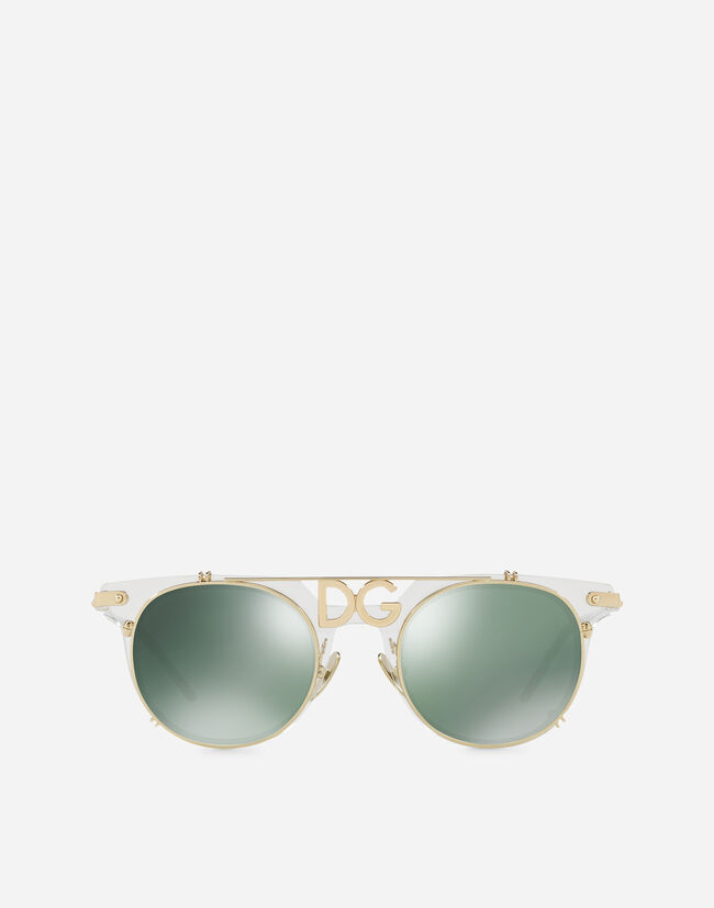 Men\'s Sunglasses | Dolce&Gabbana - PANTHOS SUNGLASSES WITH METAL FRAME