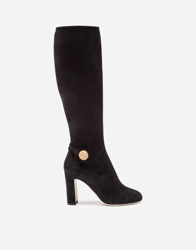 Stivale In Suede - Donna  375d273d508
