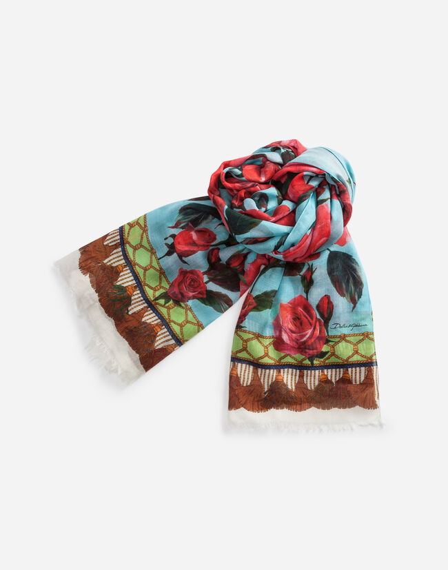 PRINTED CASHMERE SCARF 135 x 200 cm – 53 x 78.7inches