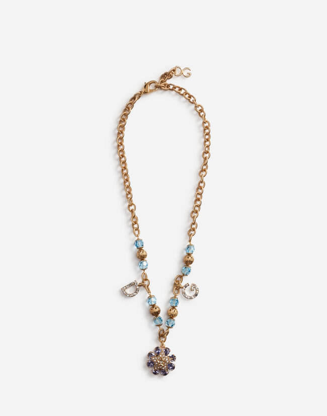 Dolce&Gabbana NECKLACE WITH CHARMS