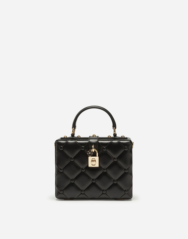 DOLCE BOX BAG IN NAPPA LEATHER