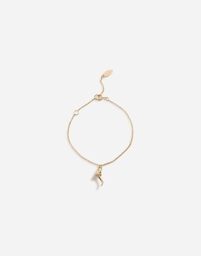 Children's Watches and Jewelry | Dolce&Gabbana - BRACELET WITH GOOD LUCK  CHARM