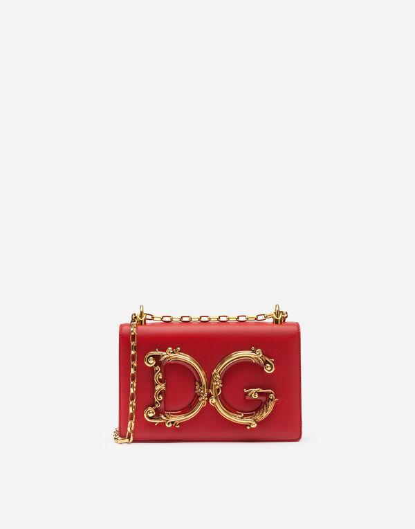 Dolce Gabbana Dg S Shoulder Bag In Na Leather