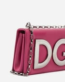 Dolce&Gabbana DG GIRLS SHOULDER BAG IN NAPPA LEATHER