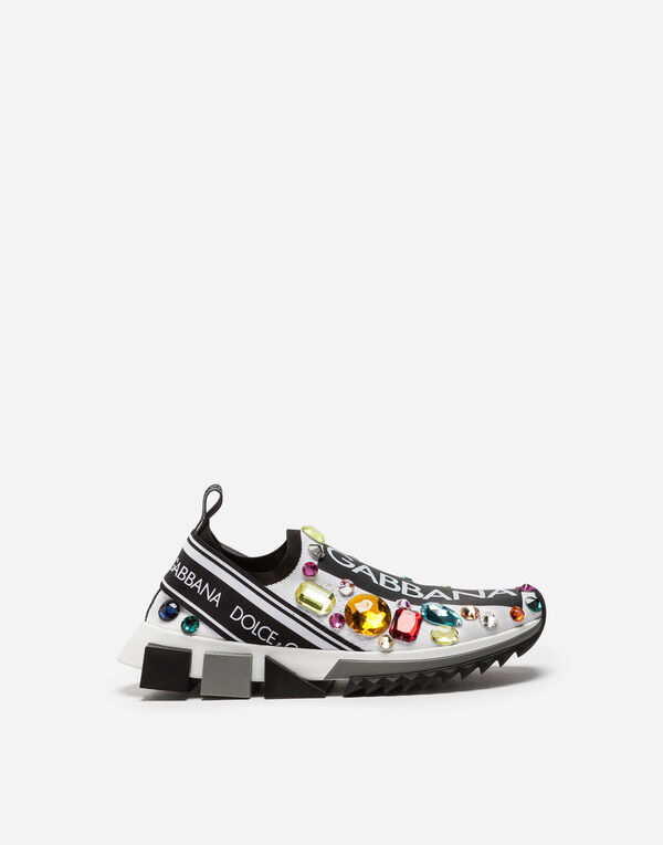 Dolce & Gabbana SORRENTO SNEAKERS WITH EMBROIDERY