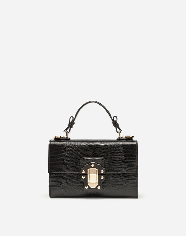 LUCIA TOP HANDLE BAG IN CALFSKIN