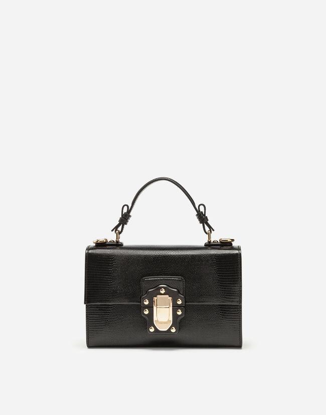 Dolce&Gabbana LUCIA TOP HANDLE BAG IN CALFSKIN