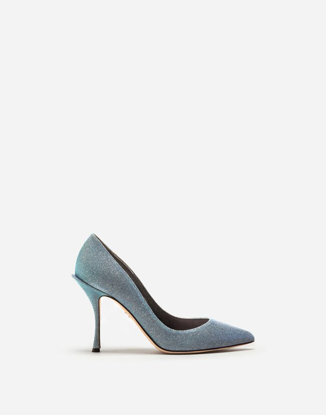 LUREX FABRIC PUMPS
