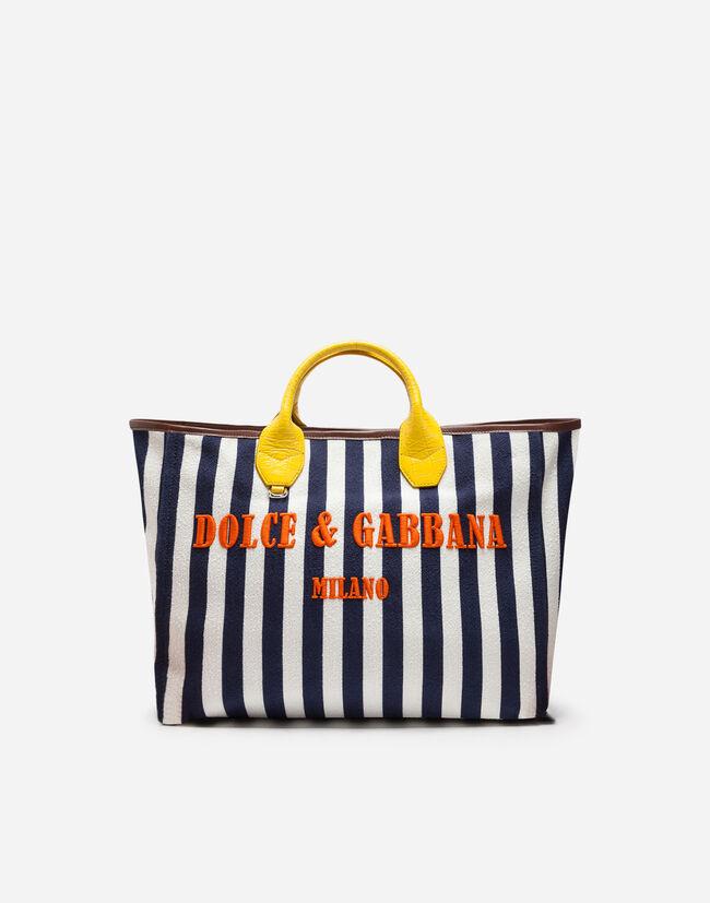 Dolce&Gabbana CAPRI WICKER SHOPPING HANDBAG