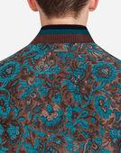 Dolce&Gabbana VELVET BROCADE JACKET