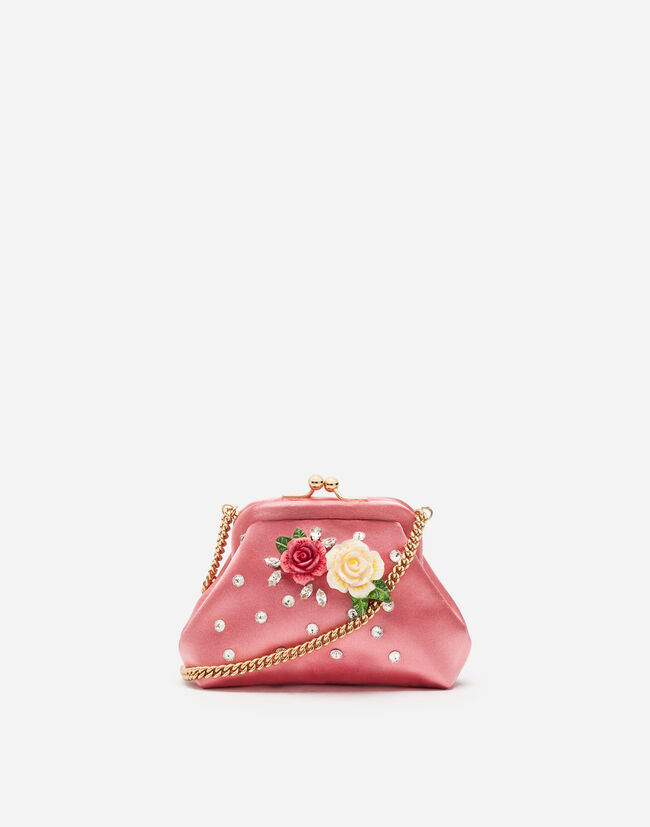 SATIN SHOULDER BAG