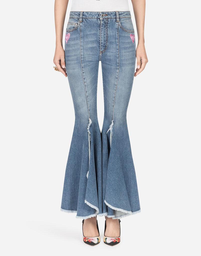 Jeans femme   toutes les coupes denim   Dolce Gabbana 79b54911a407