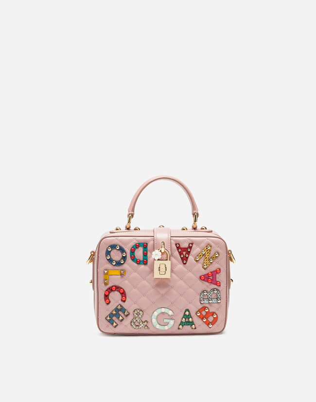 DOLCE SOFT BAG IN MATELASSÉ NAPPA LEATHER