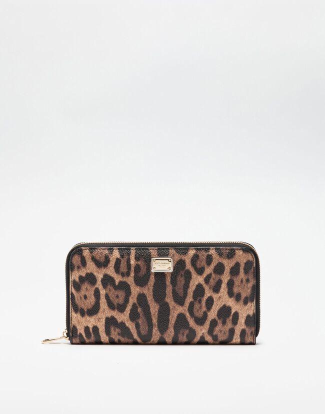 70b3b425d7 Portafogli da Donna | Dolce&Gabbana - PORTAFOGLIO ZIP AROUND IN ...