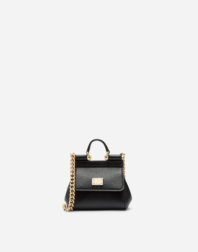 Dolce&Gabbana SICILY HANDBAG IN PRINTED DAUPHINE CALFSKIN