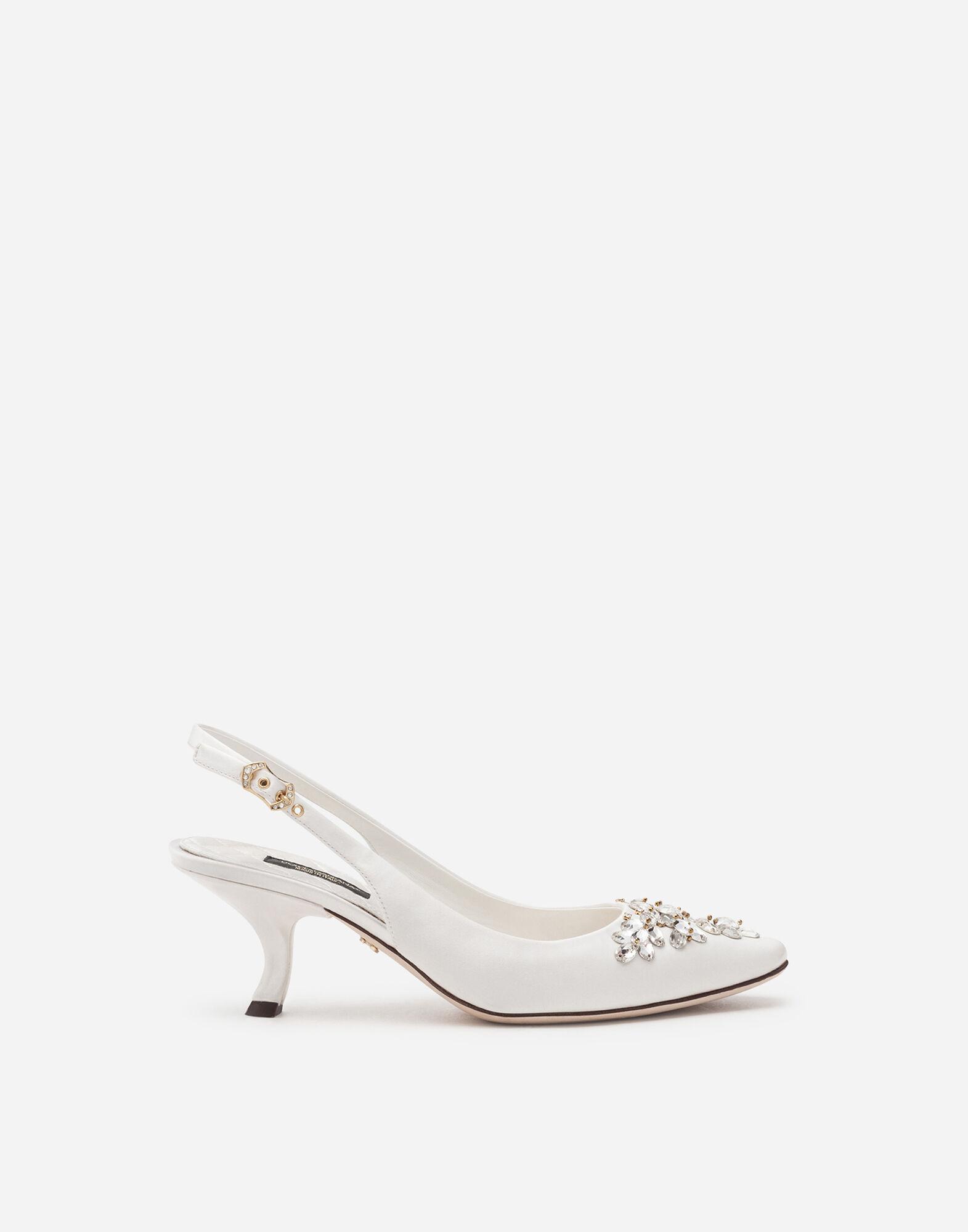 Sling Back In Raso Scarpe Donna | Dolce&Gabbana