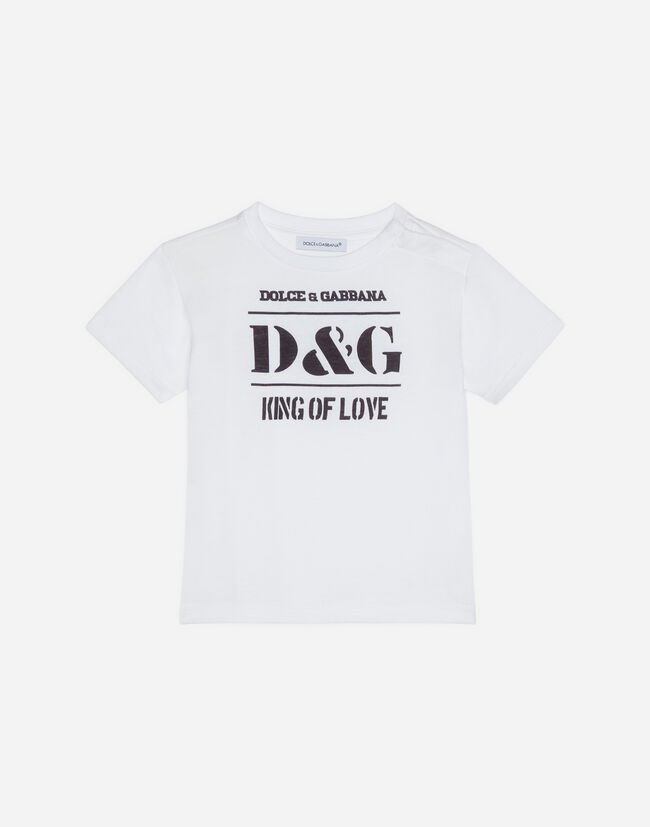 Dolce&Gabbana T-SHIRT IN PRINTED COTTON