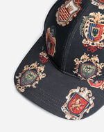 PRINTED COTTON BASEBALL CAP