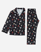 PRINTED COTTON PAJAMAS