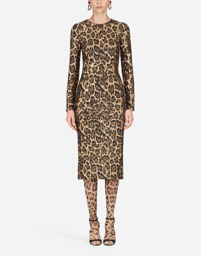 Dolce & Gabbana SEQUINED SHEATH DRESS