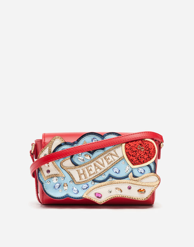 Dolce & Gabbana CROSS-BODY BAG WITH PATCH