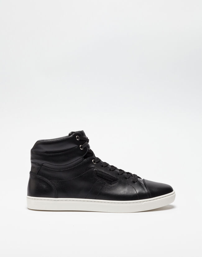 LONDON HIGH TOP SNEAKERS IN LEATHER
