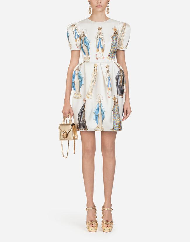 f3349bac Women's Dresses   Dolce&Gabbana - MADONNA-PRINT ORGANZA DRESS
