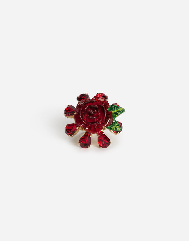 Dolce&Gabbana RING WITH ROSE