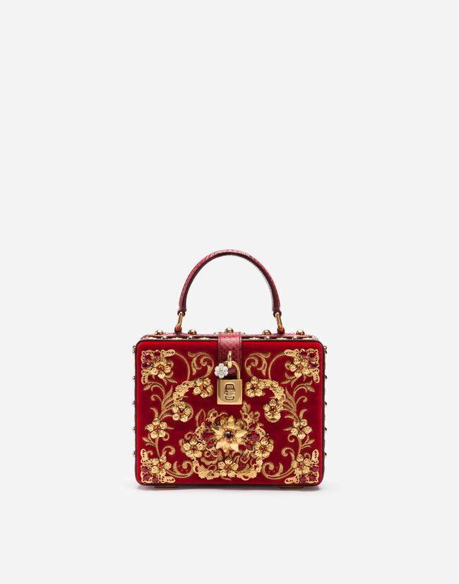 556dfd3a3d46 Сумка Dolce Box с аппликациями - Женщина | Dolce&Gabbana